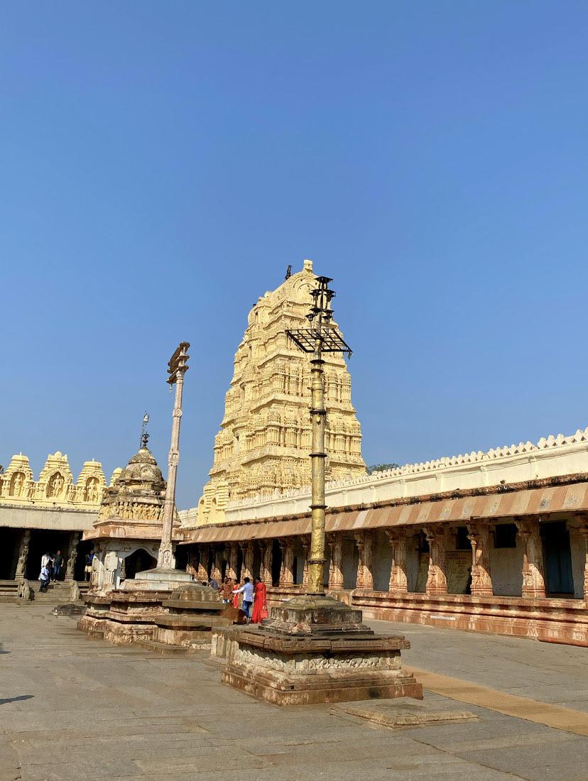 Virupaksha Temple, Hampi, Karnataka.