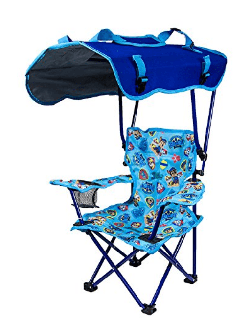 shaded kids camp chair
