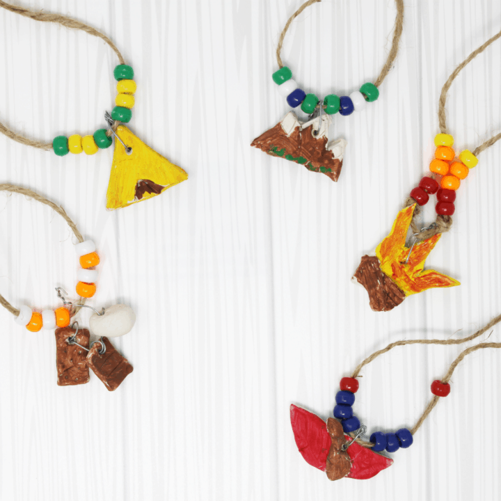 Summer Camp Craft For Kids Easy And Fun Camp Necklaces The Crazy Outdoor Mama