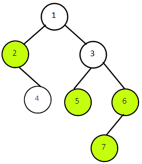 Bottom View of Binary Tree in Java