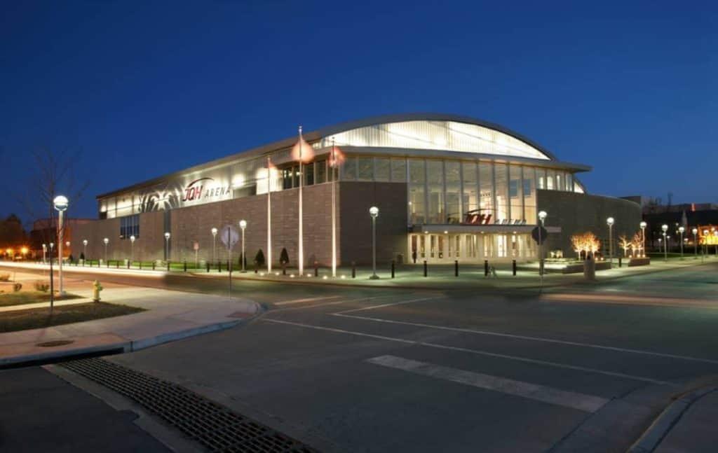 Jqh Arena Capacity