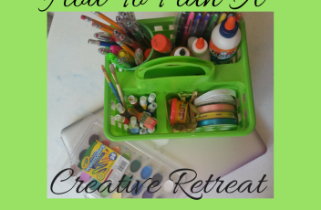 plan a creative retreat