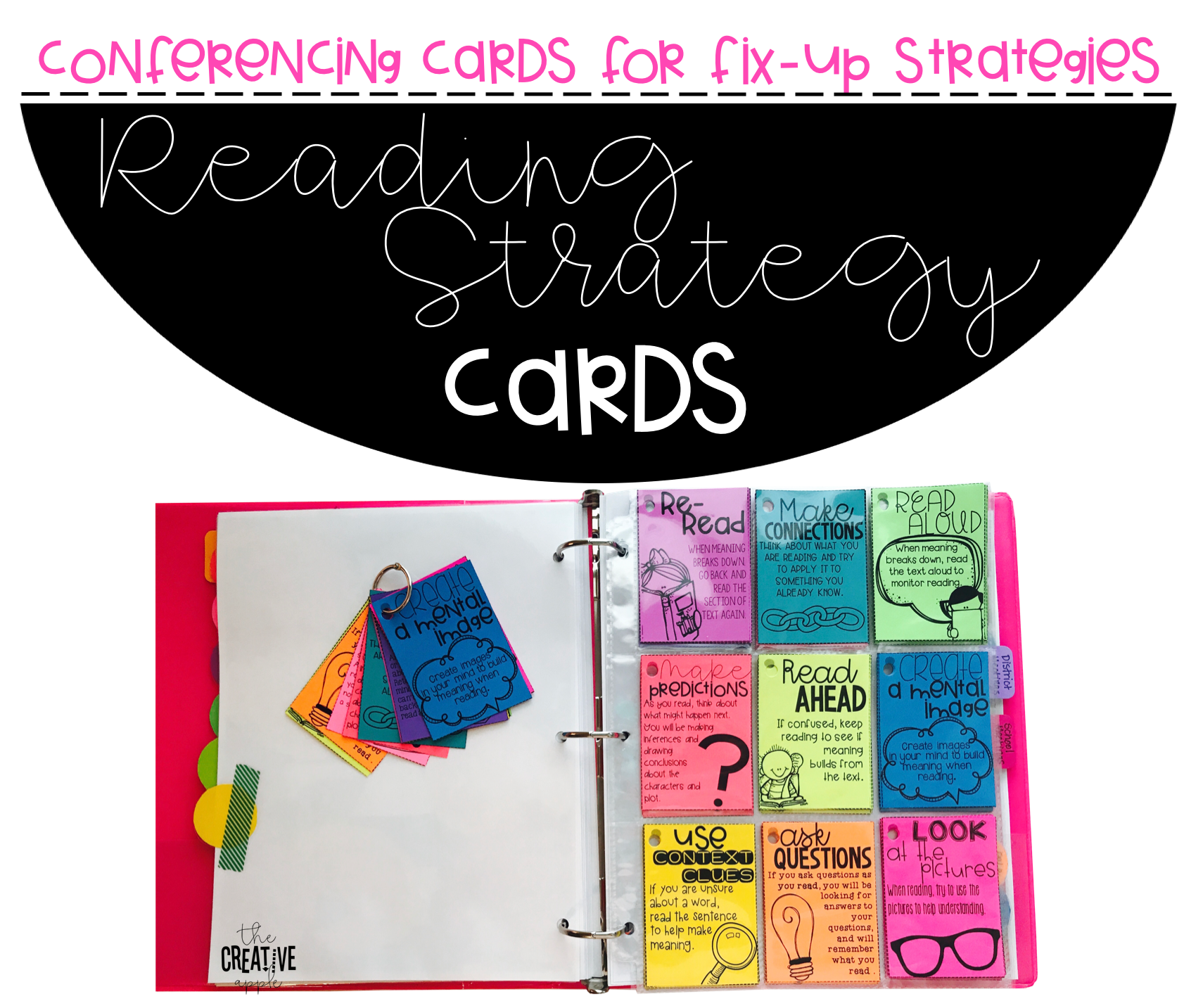 Conferencing With Comprehension Fix Up Strategy Cards