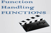 Function handling Functions in PHP