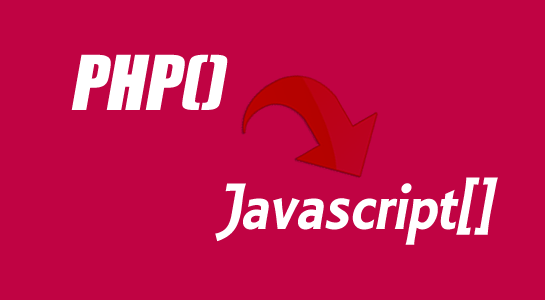 To convert PHP array into Javascript array