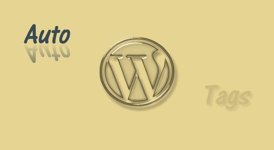 Auto tagging in Wordpress