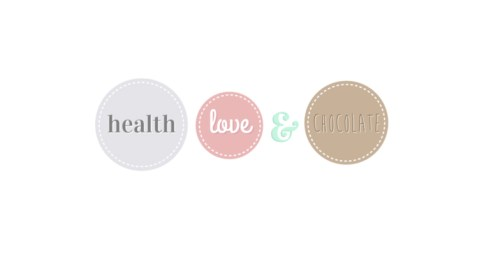 Health, Love and Chocolate Blog Design
