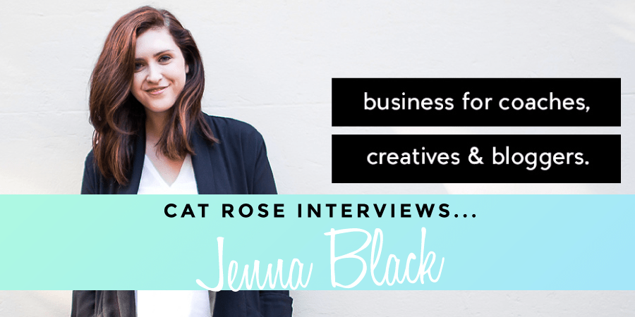 Interview Jenna Black