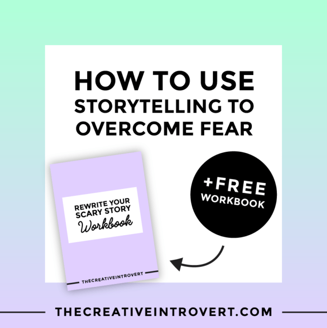 How To Use Storytelling To Overcome Fear (trust me - it can be done!) This post + FREE workbook walk your thought the process.