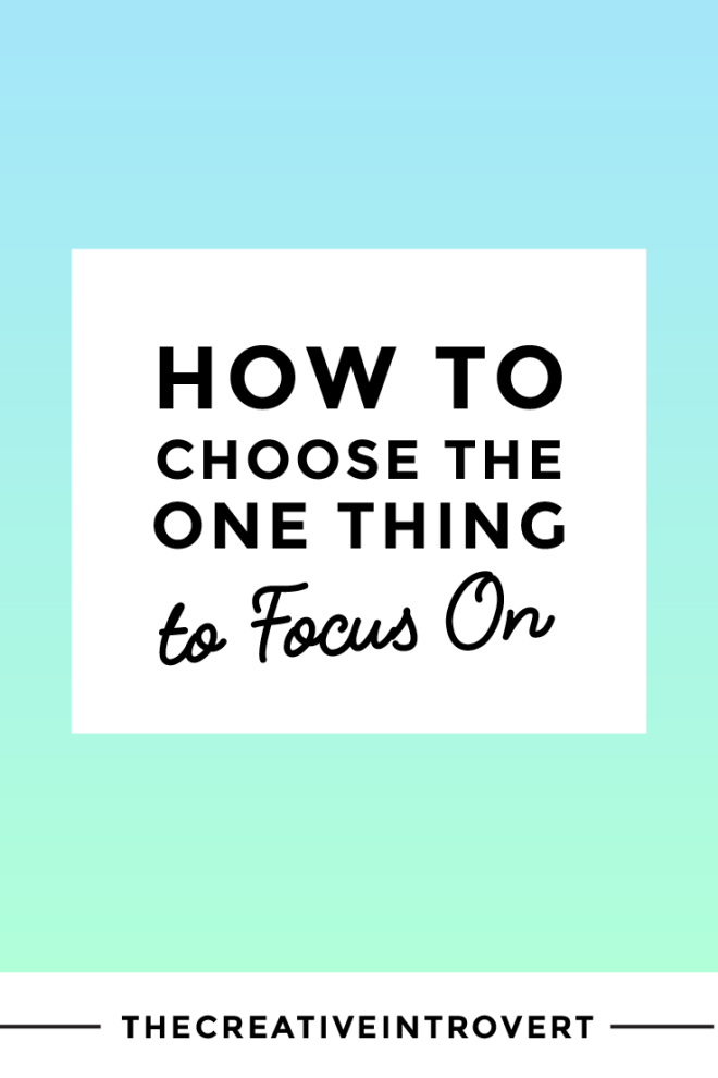 It can be hard to know what to do next and focus on that one thing - but this 5-step process shows you exactly how