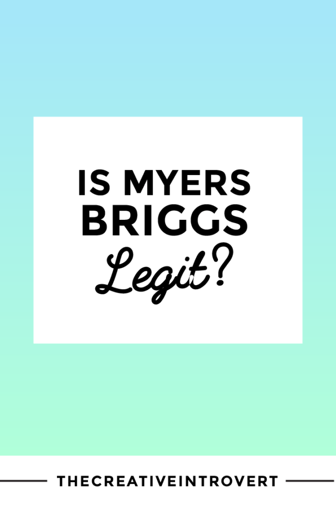 Is there any validity behind the Myers Briggs Type Indicator test?