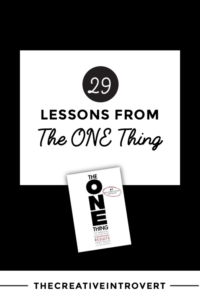 What I learnt from Gary Keller's 'The One Thing'