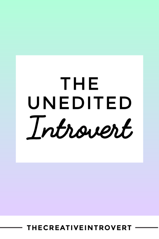 What does it mean to live an 'unedited' life?
