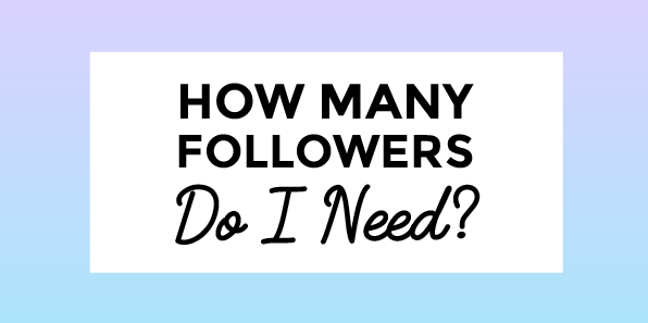 How Many Followers Do I Need to Actually Make... Money?