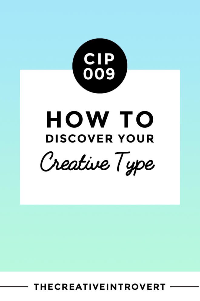 What's Your Creative Type? Take the quiz >>