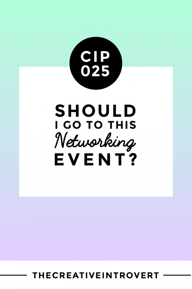 Should I go to this networking event?