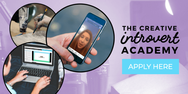 Apply For The Creative Introvert Academy