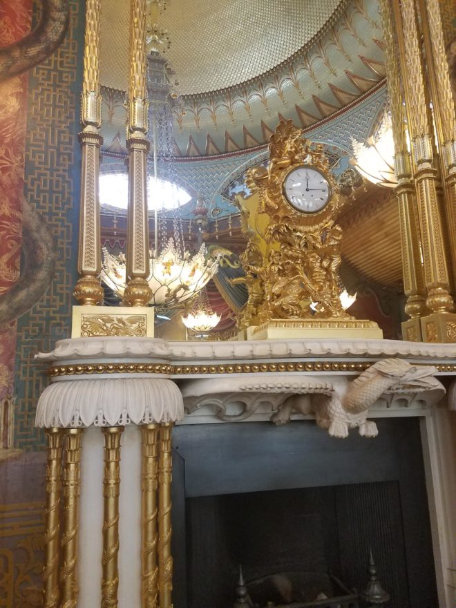 Royal Pavilion clock