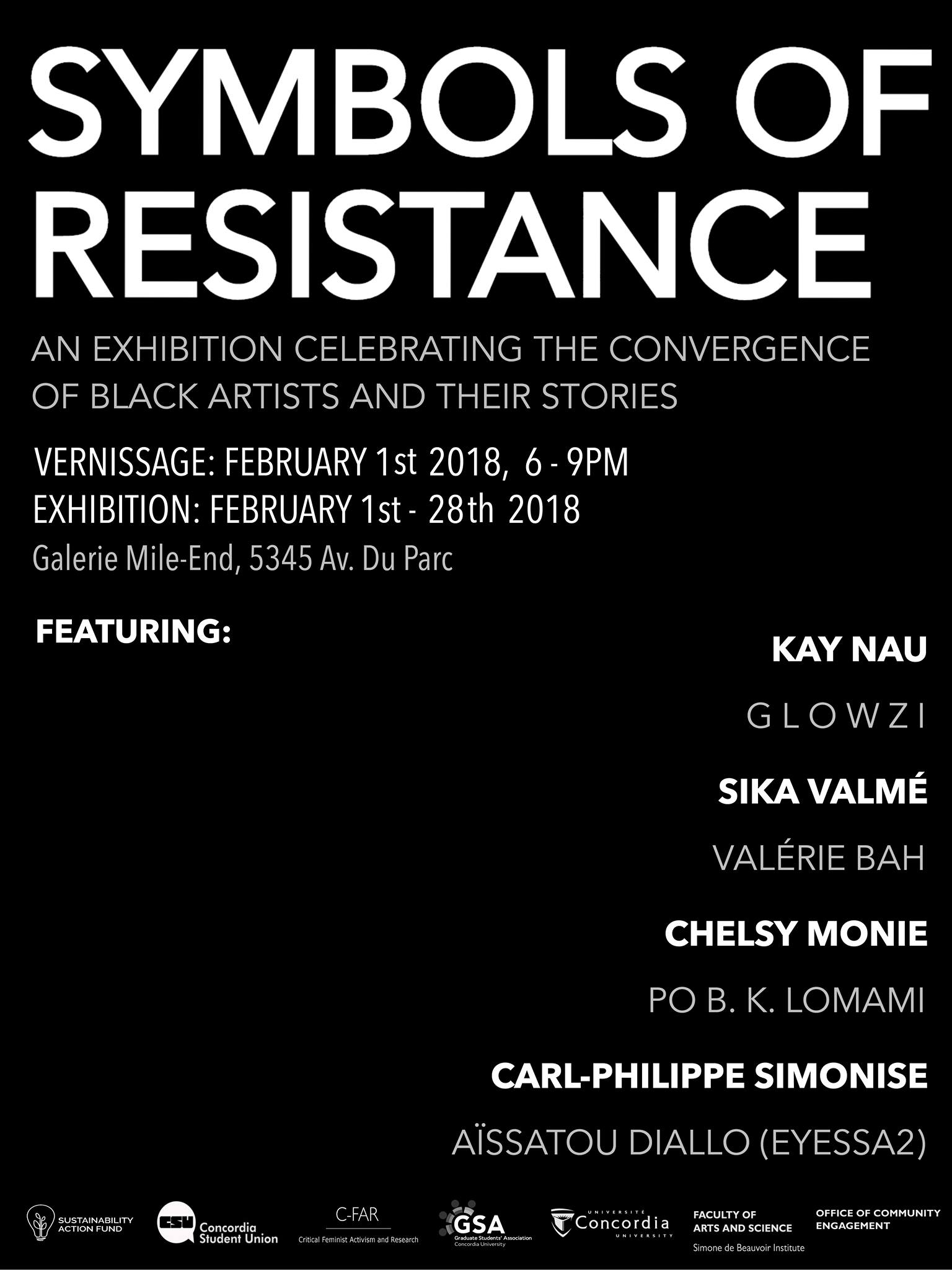 Symbol of Resistance poster