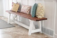 How to Build a Farmhouse Bench (for under $20) - The ...