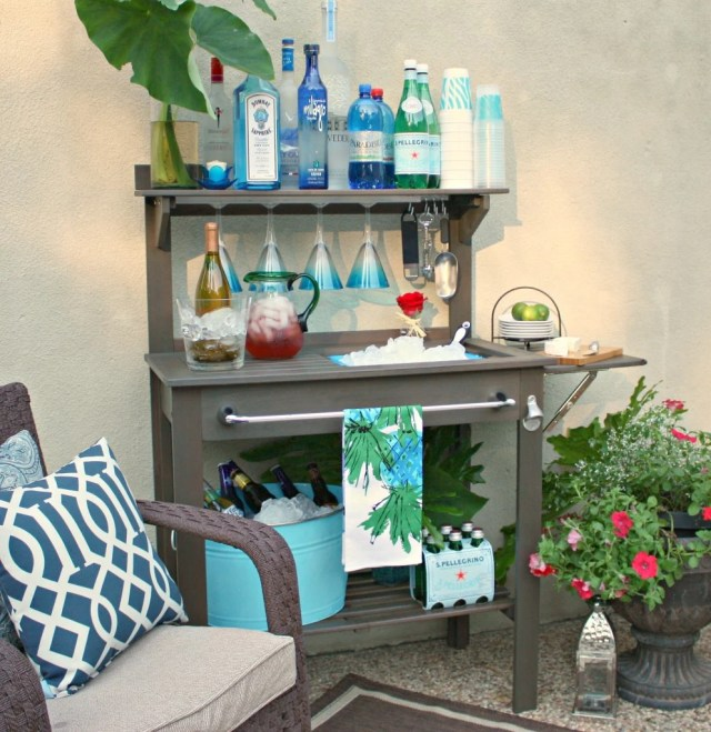 Potting Bench- Outdoor Bar