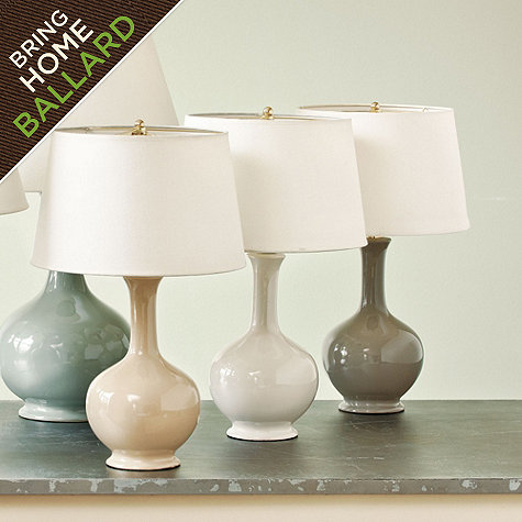 Design Crush... Inexpensive Table Lamps {under $100.00}..