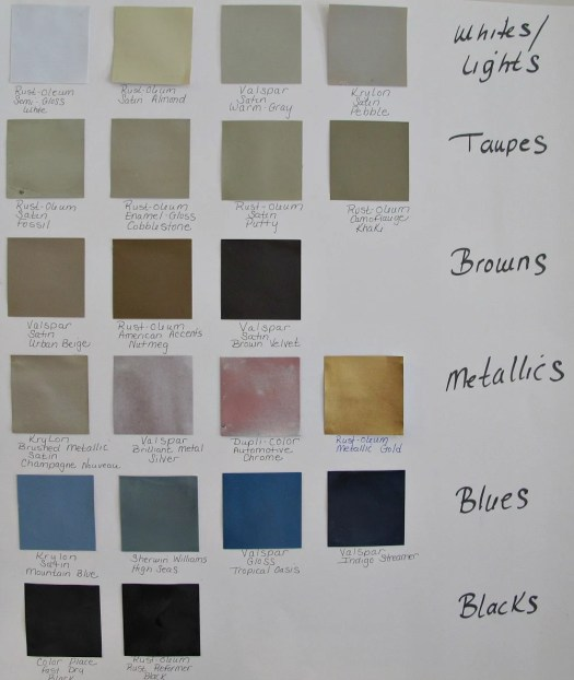 Furniture Colors spray paint colors for wood furniture | home painting