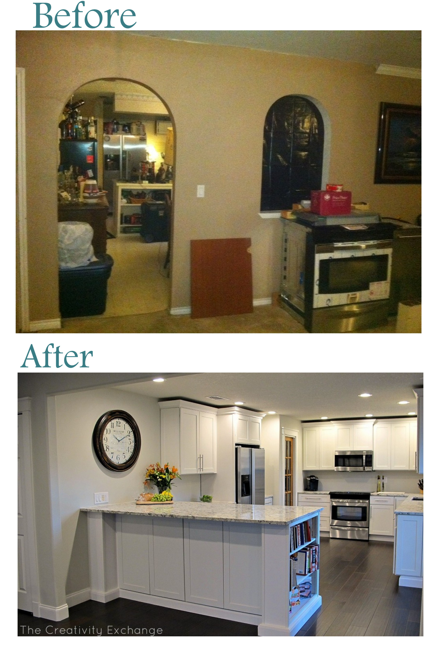 100 Before And After Kitchen Cabinets Remodelaholic