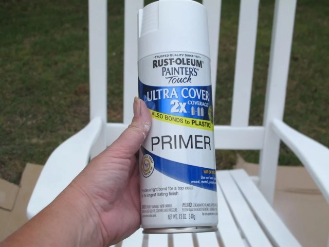 Rustoleum Spray Primer in White