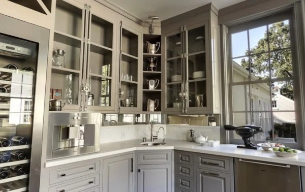 best color for gray kitchen cabinets Gorgeous Gray Cabinet Paint Colors