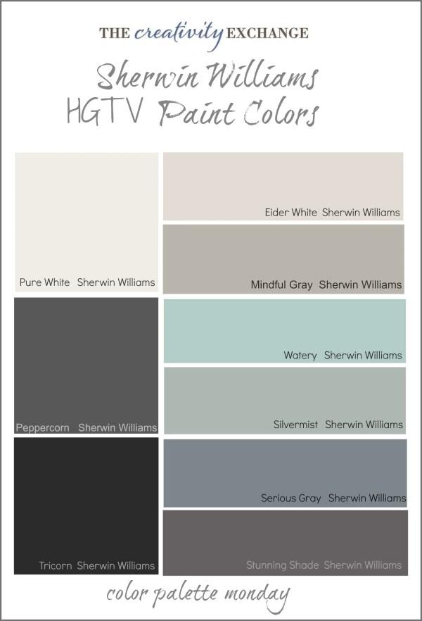 Readers' Favorite Paint Colors Color Palette Monday