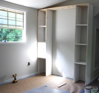 Create Built-In Shelving and Cabinets on a Tight Budget