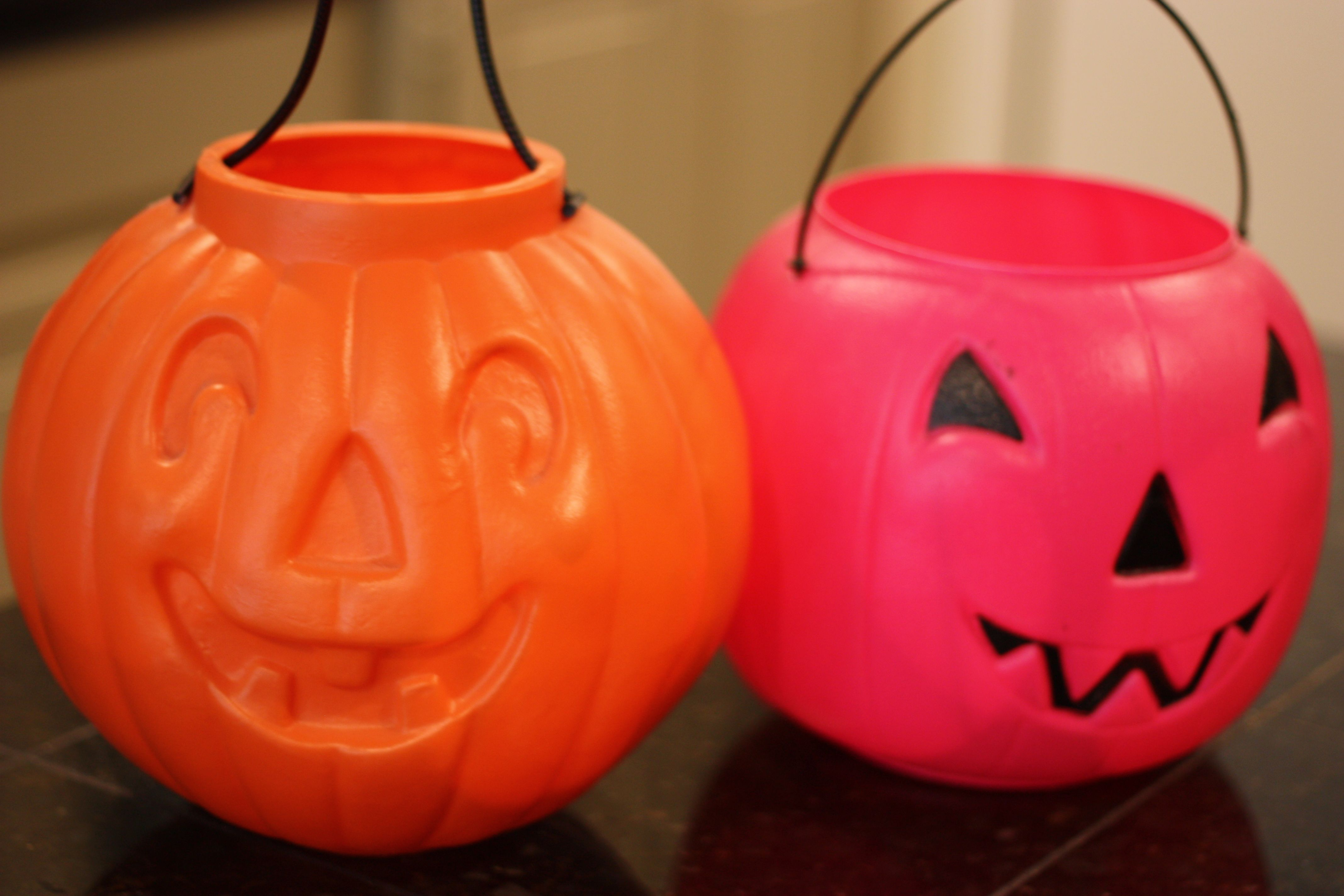 Fall Front Porch Fluff Sprayed Gold Pumpkin Buckets