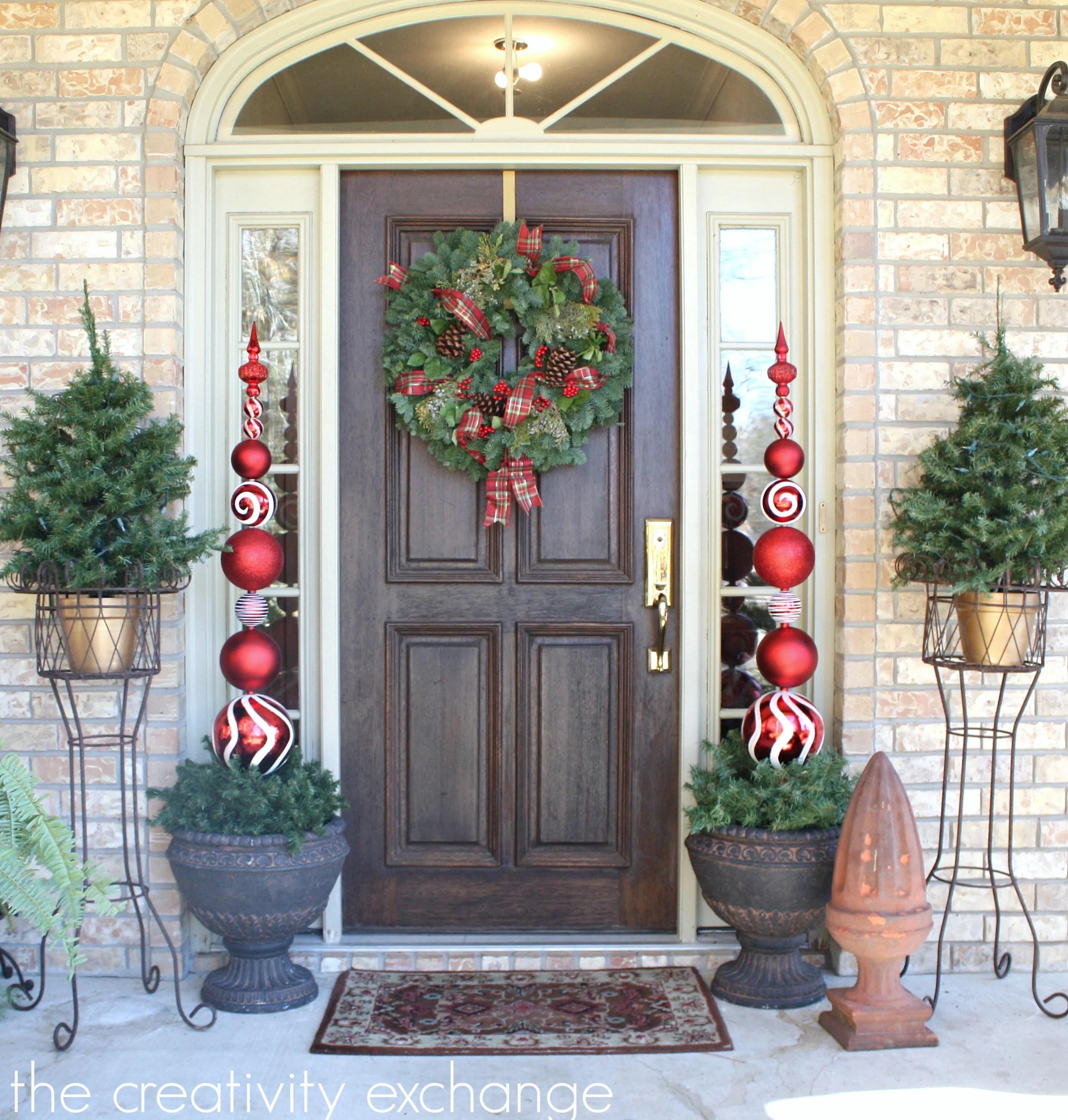 DIY Tall Ornament Topiary...