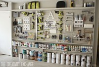 Organizing the Garage with DIY Pegboard Storage Wall