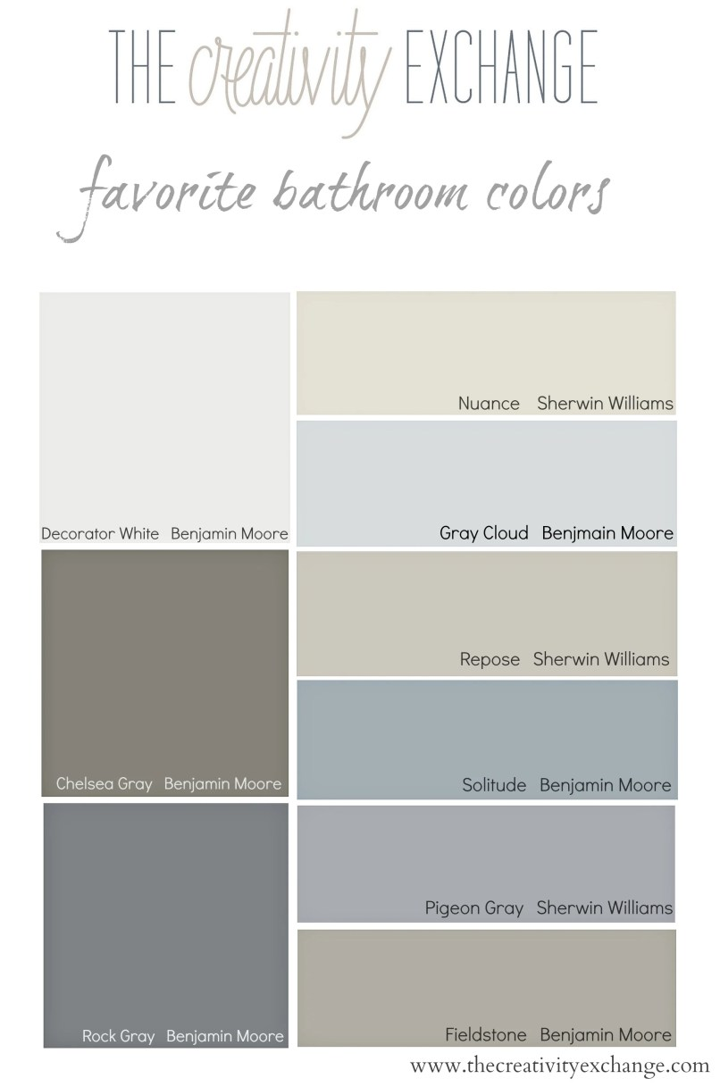 bathroom paint colors with oak cabinets | everdayentropy
