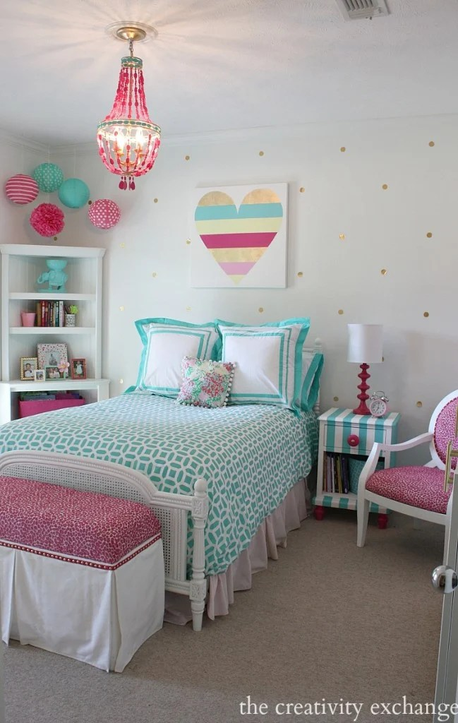 20 More Girls Bedroom Decor Ideas The Crafting Nook