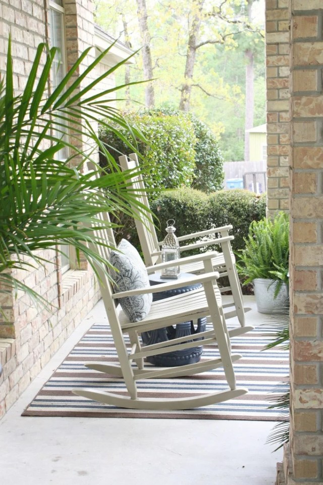 Front porch revamp| The Creativity Exchange