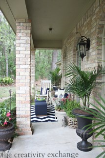 Spring Front Porch Revamp