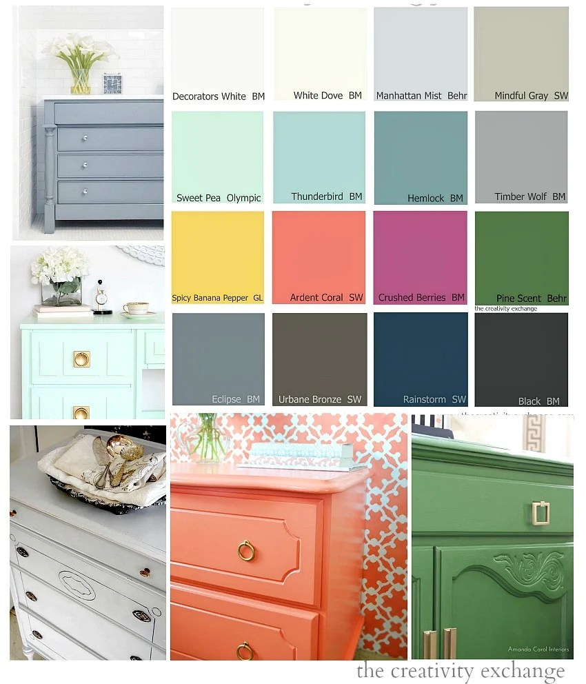 Superb 16 Of The Best Paint Colors For Painting Furniture