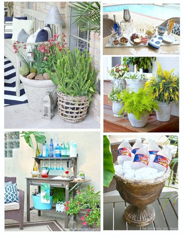 creative outdoor landscaping decor
