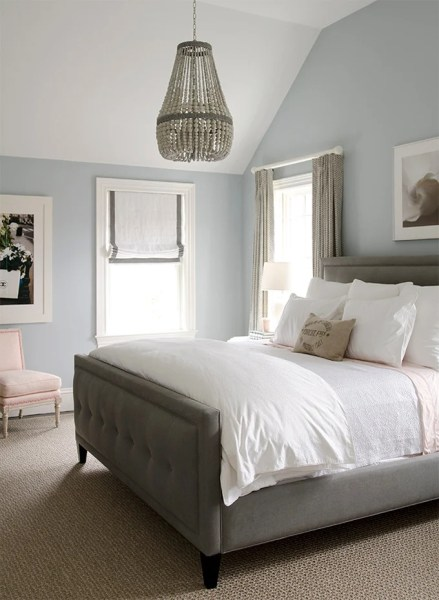 silver blue gray bedroom paint colors Popular Bedroom Paint Colors