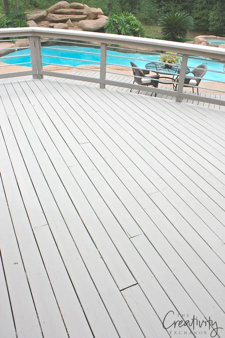 Paints to use for outdoor decking that last and hold up for years.
