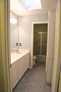 Our Guest Bathroom Remodel Plan and Progress