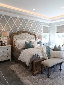 Modern French Country Bedroom