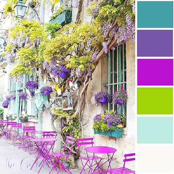 Color Inspiration   Summer Café