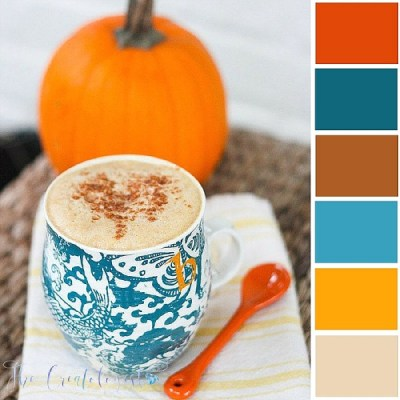 Color Inspiration | Spiced Latte