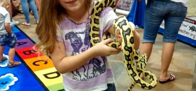 Jag the Carpet Python