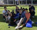 Hollywood seniors on SMC campus