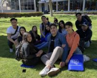 Hollywood seniors on SMC campus